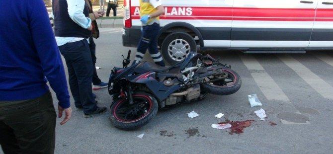 Kayseri'de otomobil ile bir motosiklet çarpıştı: 1 ölü