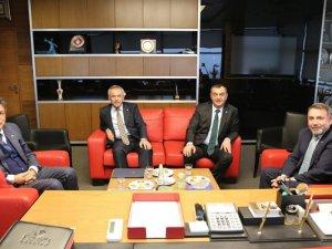 Oda Başkanlarından Boydak Holding CEO'su Ertekin'e Hayırlı Olsun Ziyareti