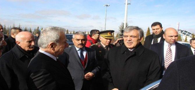 Abdullah Gül,Beğendik'in cenazesine katılmak için Kayseri'ye geldi