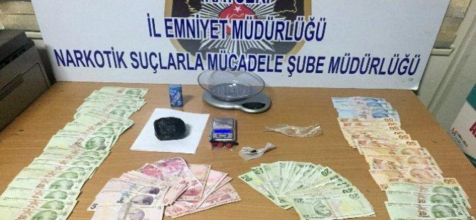 Kayseri-Malatya karayolunda 3 kilo esrar ele geçirildi