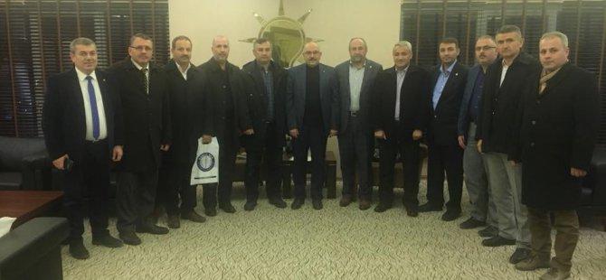 AK Parti İl Başkanı Özden STK lar İle İstişare Toplantısı yaptı
