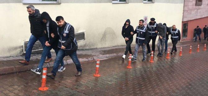 Kayseri'de marketi soymaya çalışan 4 kişi yakalandı