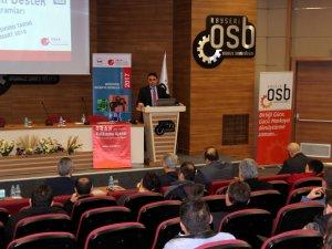 Kayseri OSB'de bilgilendirme toplantısı