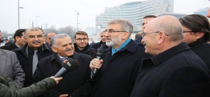 Melikgazi Belediyesi 9 adet hizmet aracını tanıttı