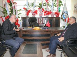 Başkan Öztürk'ten oda başkanlarına tebrik ziyareti