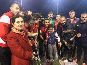 Ampute Milli Takımı, İtalya'daki turnuvada şampiyon oldu
