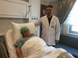 Dünyam Hastanesi'nde sağlığına kavuştu