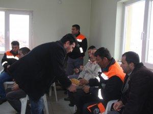 Başkan Karayol belediye personeli ile bir araya geldi