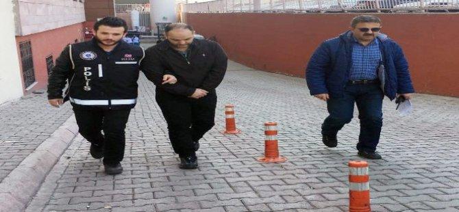 Kayseri'de FETÖ operasyonu 1 kişi gözaltına alındı