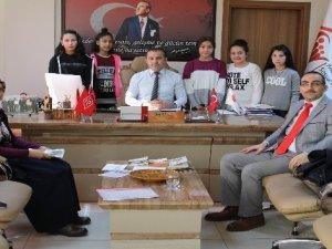 Kayseri'de Çocuk Evleri'nde kalan çocuklar Afrin'deki Mehmetçiğe mektup yazdı