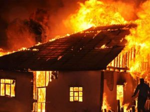Çorum'da Korkunç Yangın: 1 Ölü, 2 İtfaye Eri 1 Polis Yaralı