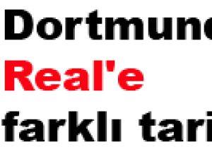 Dortmund'dan Real'e farklı tarife 4-1