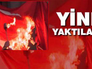 Erivan'da Türk Bayrağı Yakıldı!..