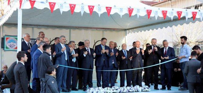 Tarihi Çifteönü Cami  ibadete açıldı