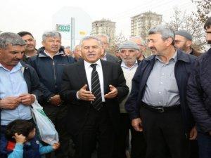 Büyükkılıç Esentepe Mahallesini ziyaret etti