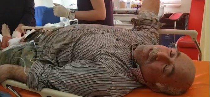 Develi'de domuzun saldırdığı bir kişi hastaneye kaldırıldı
