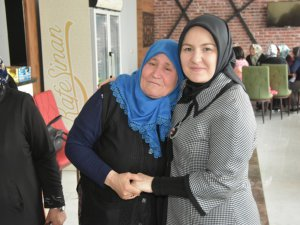 Çolakbayrakdar çifti, Kocasinan' ın Çınar'larını kafe Sinan'da ağırladı