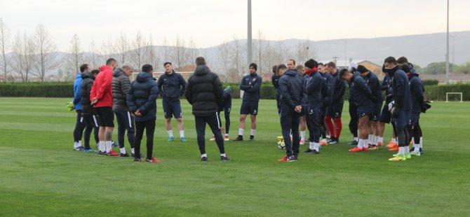 Kayserispor'da Gençlerbirliği maçı hazırlıkları başladı