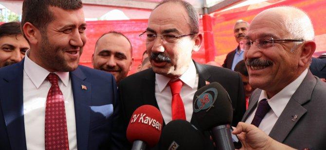 """Gülsoy: """"Erciyes Dağı'nın tüm Kayseri'yi kucakladığı gibi Kayseri'yi kucaklayacağız"""""""