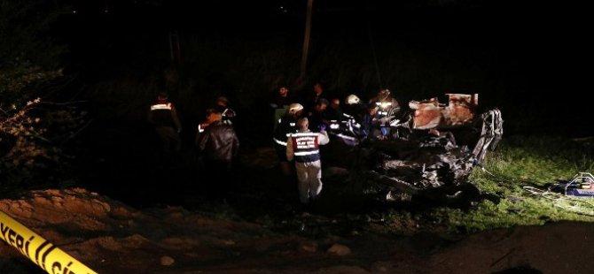 Nevşehir'de trafik kazası: 5 ölü, 4 yaralı kazada ölenlerin kimlikleri belli oldu