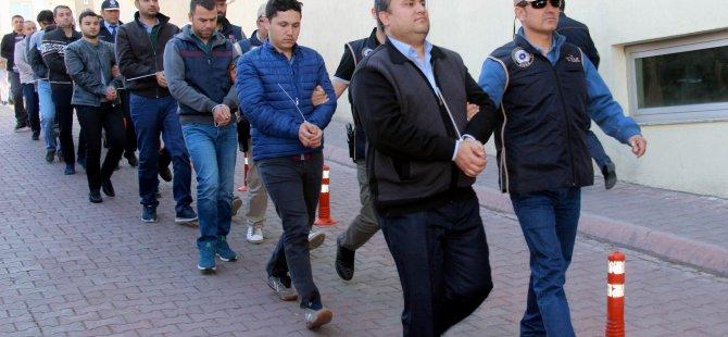 Kayseri'de FETÖ operasyonu: 12 kişi gözaltına alındı