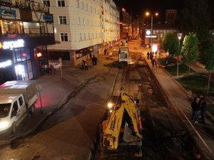 Kocasinan Sahabiye Ahmet Paşa caddesine asfalt döktü
