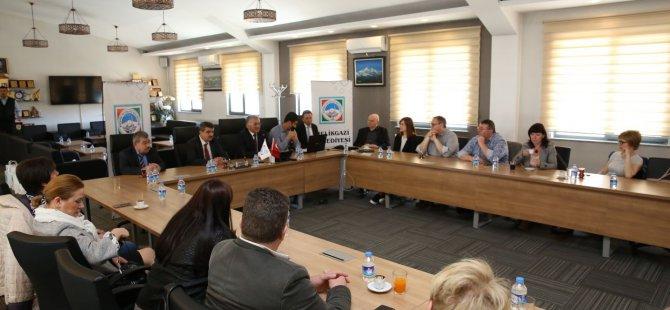 Büyükkılıç Türkiye'ye ve belediyemize hoş geldiniz