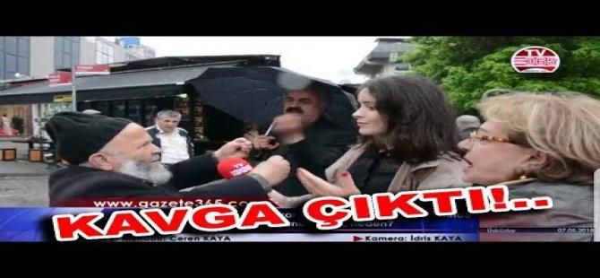 AK Parti'yi çılgınca savunan amca: video