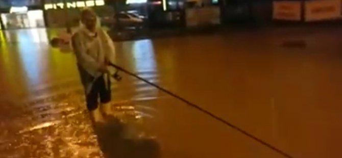 Kayseri'de vatandaş tepkisini ilginç bir şekilde ortaya koydu