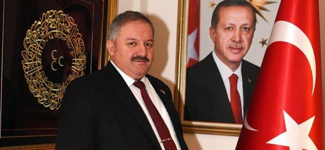 """Başkan Nursaçan: """"Filistin halkı yalnız değildir"""""""
