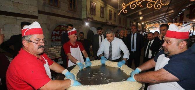Başkan Çelik 'Telteli' açtı