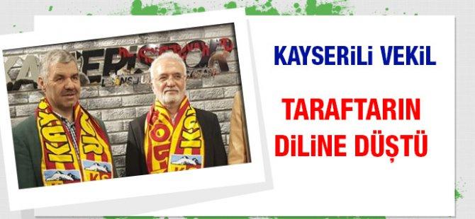 Elitaş, Kayserispor taraftarının yoğun tepkisi ile karşılaştı