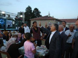 Büyükkılıç, Kıranardı sakinleri ile iftar sofrasında