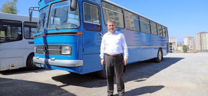 Başkan Palancıoğlu Başbakan Yıldırımın Otobüsüne bindi