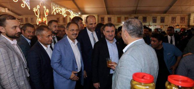 Gençlik ve Spor Bakanı Osman Aşkın Bak  Ramazan Sokağında
