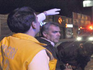 Kocasinan'da Trafik Kazası 4 Yaralı