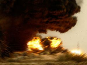 Konya Karapınar da  patlama: 4 ölü