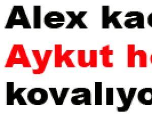 Alex kaçıyor Aykut hoca kovalıyor
