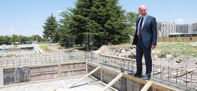 Kocasinan Belediyesi biyolojik gölet inşa ediyor