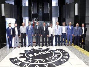 AKİB Mobilya İhracatçıları Birliğinden KAYSO'ya ziyaret