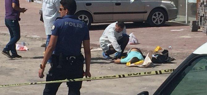 Malazgirt Caddesi'nde önce kız arkadaşını vurdu, sonra intihar etti