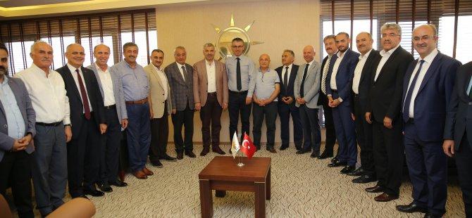 Başkan Çelik,Hedefimiz Büyükşehir ve tüm ilçe belediyelerini almak