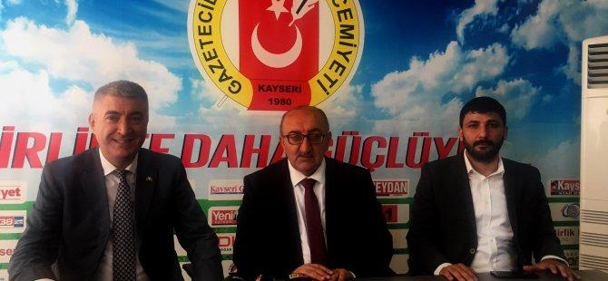 MHP İl Başkanı Serkan Tok, basın mensuplarına kapımız her zaman açık