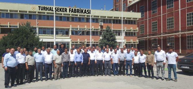 Turhal Şeker Fabrikasında revizyon çalışmaları sürüyor