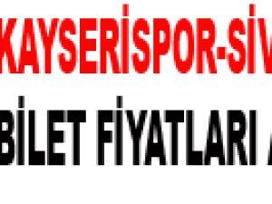 KAYSERİSPOR-SİVASSPOR BİLET FİYATLARI AÇIKLANDI
