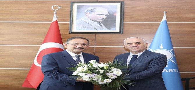 """Özhaseki, """"Belediyecilik bizim işimiz, AK Parti'nin işi."""""""