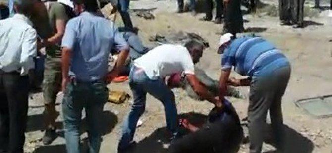 Develi'de Askerlerin içinde bulunduğu otomobil takla attı: 1 ölü, 5 yaralı