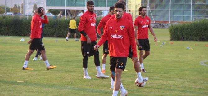 Kayserispor, Göztepe maçı hazırlıklarına başladı