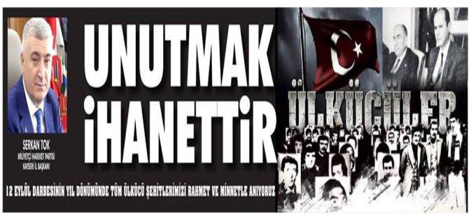 Serkan Tok MHP Kayseri İl Başkanı