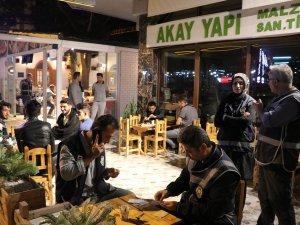Kayseri'de bin 200 polisle Huzur Türkiye-5 uygulaması yapıldı